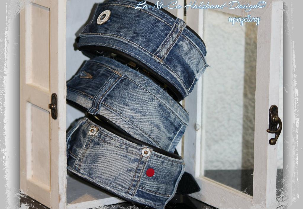 Windhundhalsbänder Jeans Design